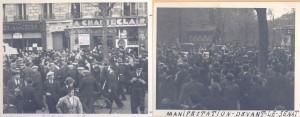 Pivert Manifestation avril 1938