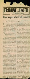 Tribune Marceau Pivert novembre 1937
