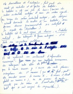 Page 2 Lettre Séverine Paraud octobre 1964