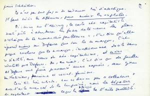 Page 2 Lettre Daniel Guérin 24 février 1964