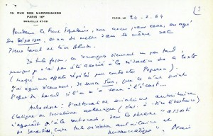 Page 3 Lettre Daniel Guérin 24 fevrier 64
