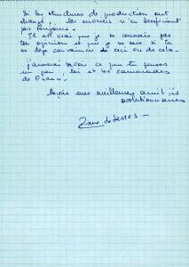 Page 2 Lettre Eliane de Serres d'Alger