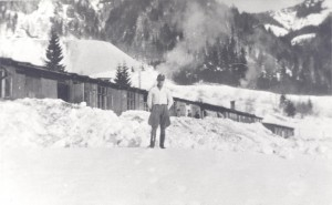 Camp du Loibl Pass unSS hivers 1942-1943 - Fonds Chauvin-CHS