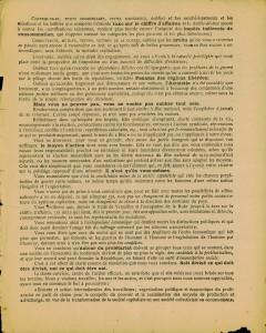 Elections legislatives 11 mai 1924 - tract cartel des gauche p2