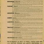 Elections legislatives 11 mai 1924 - tract cartel des gauche p4