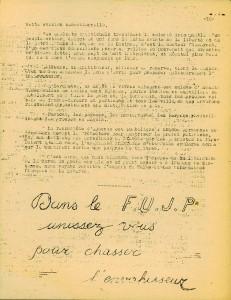 Jeunesses Laïques combattantes page 10 Libération Corse 1943