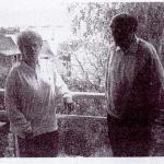 Photo Eliane et Henri Berthomé 1995