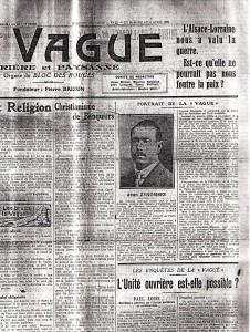 ZYROMSKI vu par La Vague, 1925