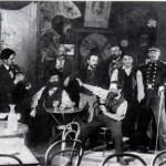 Gaston Couté au Pierrot noir à Chateauroux