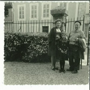 Jean Zyromski , Lili Bleibtreu, et sa fille Françoise