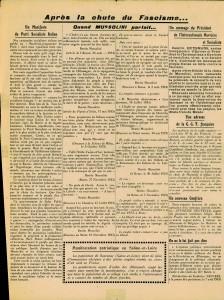 Le Populaire septembre 1943 page 3