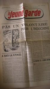 La jeune garde - Décembre-janvier 1947