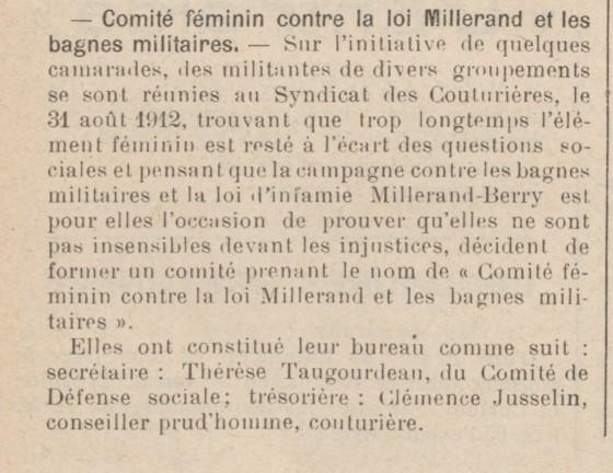 Les Temps nouveaux - 7 septembre 1912