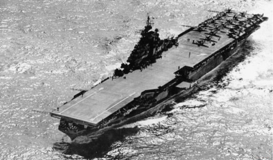 USS Hancock (CV-19), December 1944. Photograph Courtesy of the US Naval History & Heritage Command
